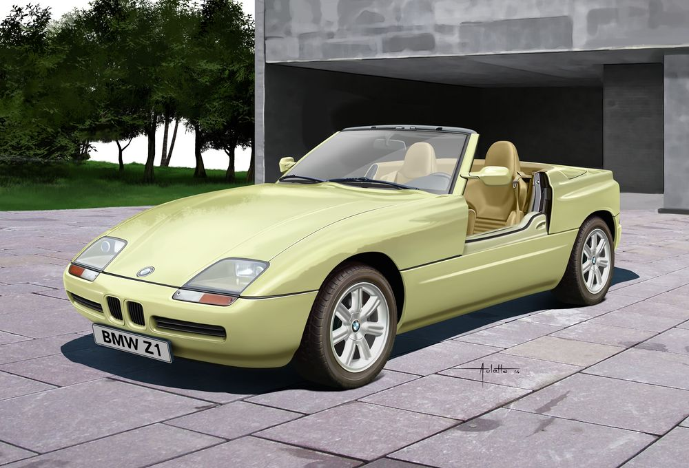 bmw z1 modellbausatz f r gelegenheitsbastler neuheit 2015 revell gmbh blog. Black Bedroom Furniture Sets. Home Design Ideas