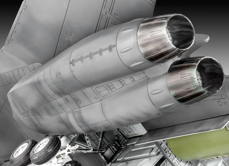 Revell-B-1B-Triebwerke