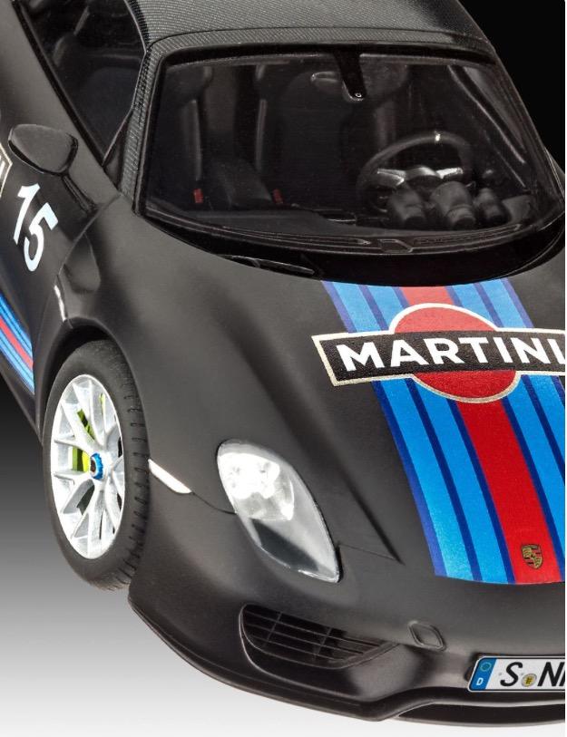 Porsche-918-Spyder-Bausatz-Front