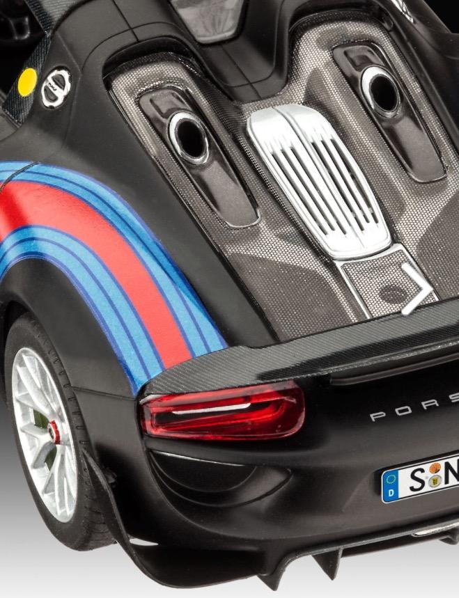 Porsche-918-Spyder-Bausatz-Heck