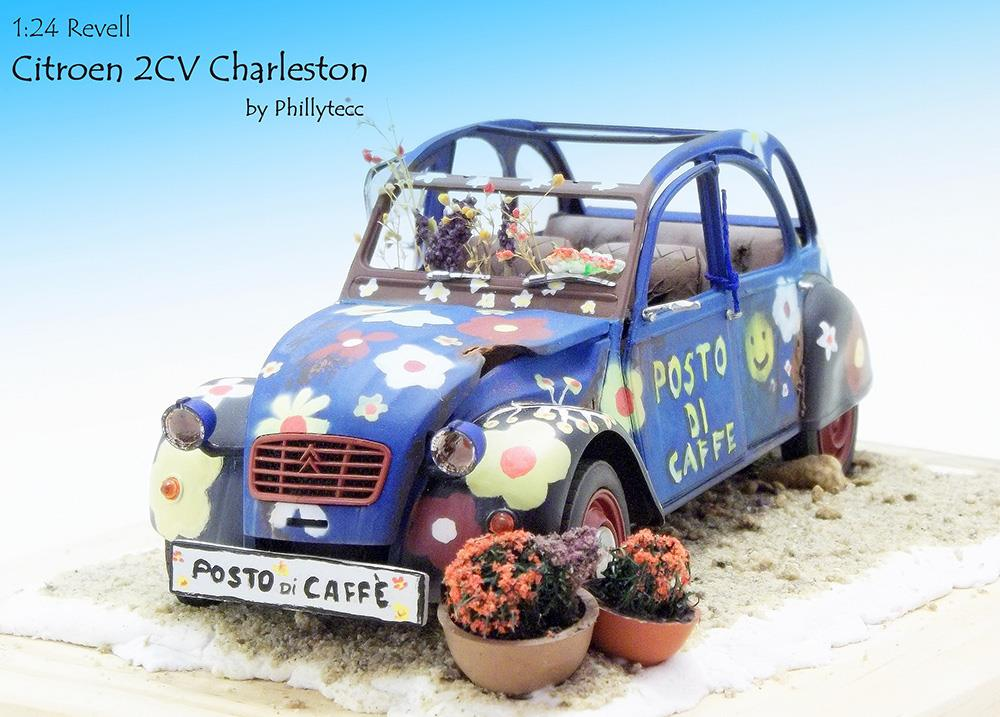 Citroen 2CV Charleston,Scale 1zu24