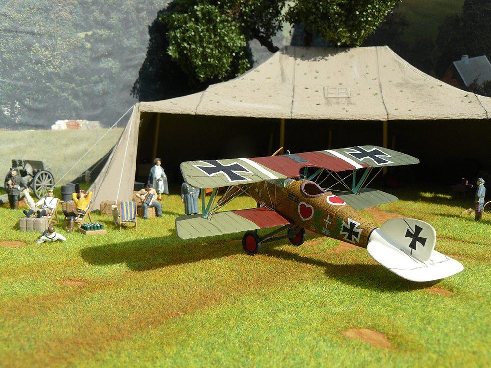 Flugzeuglager Albatros D.III Scale 1:zu72