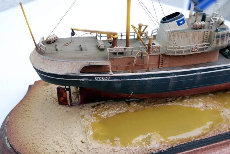 Nordsee Trawler Diorama