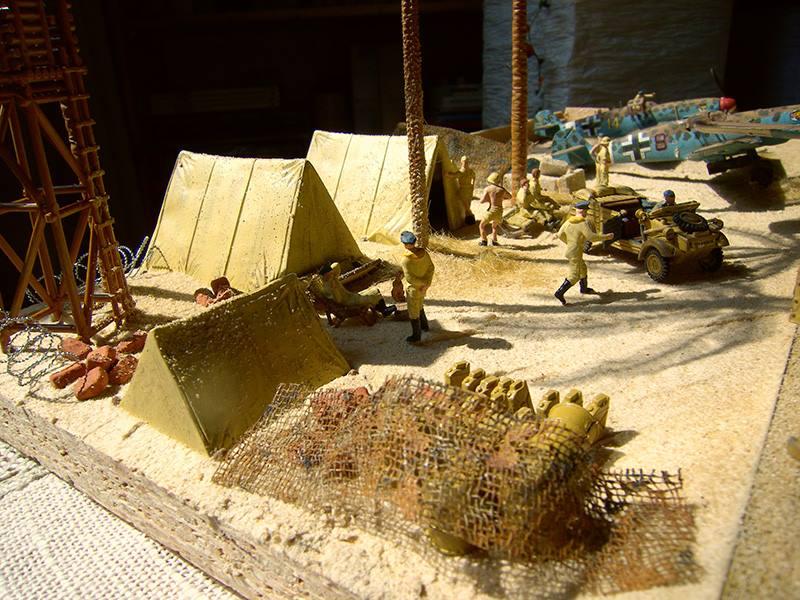 Wuestenlager-in-Libyen