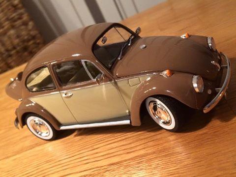VW Käfer von Kevin Scholling braun beige