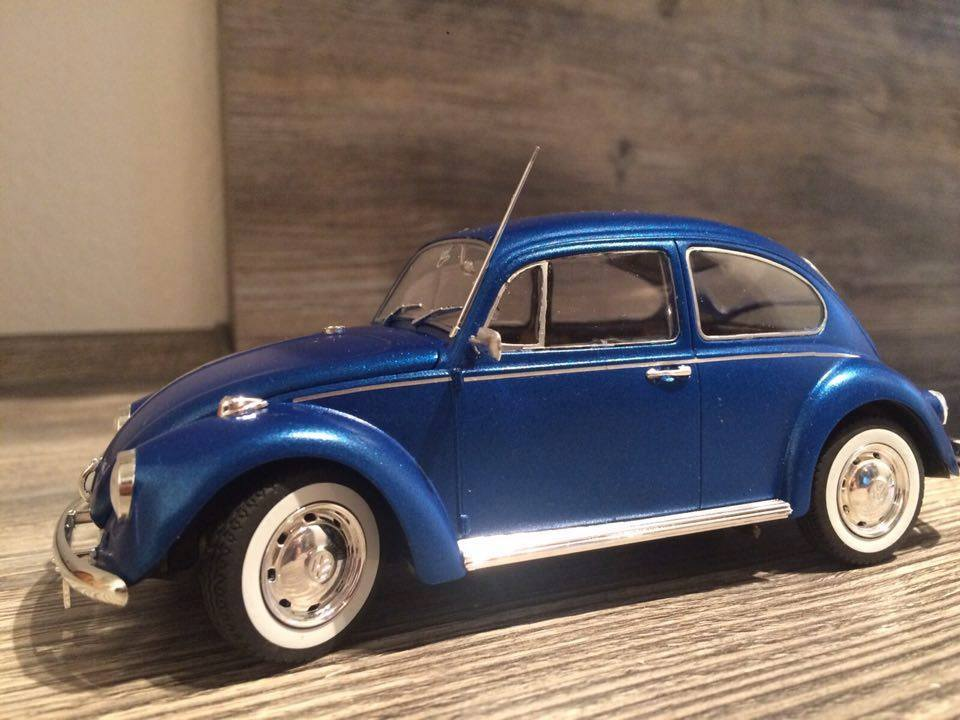 VW Käfer blau metallic Ralpf Dünner