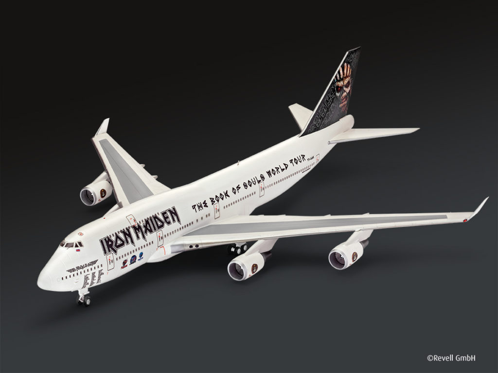 jetzt vorbestellbar iron maiden flugzeug ed force one revell gmbh blog. Black Bedroom Furniture Sets. Home Design Ideas