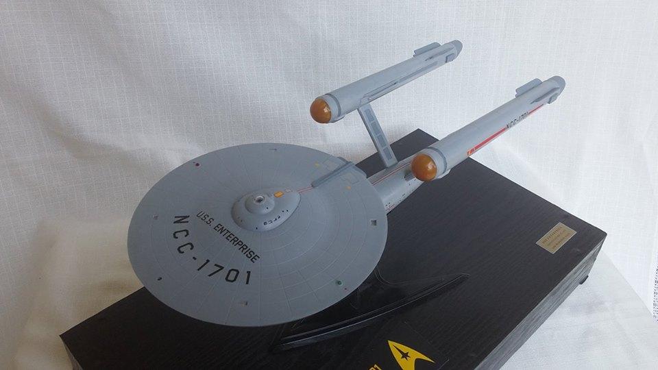 Modellbausatz Raumschiff Enterprise in 1:600