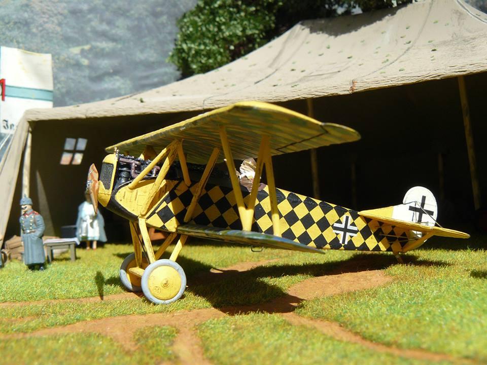 Revell Fokker D.VII Modellbausatz 1:72