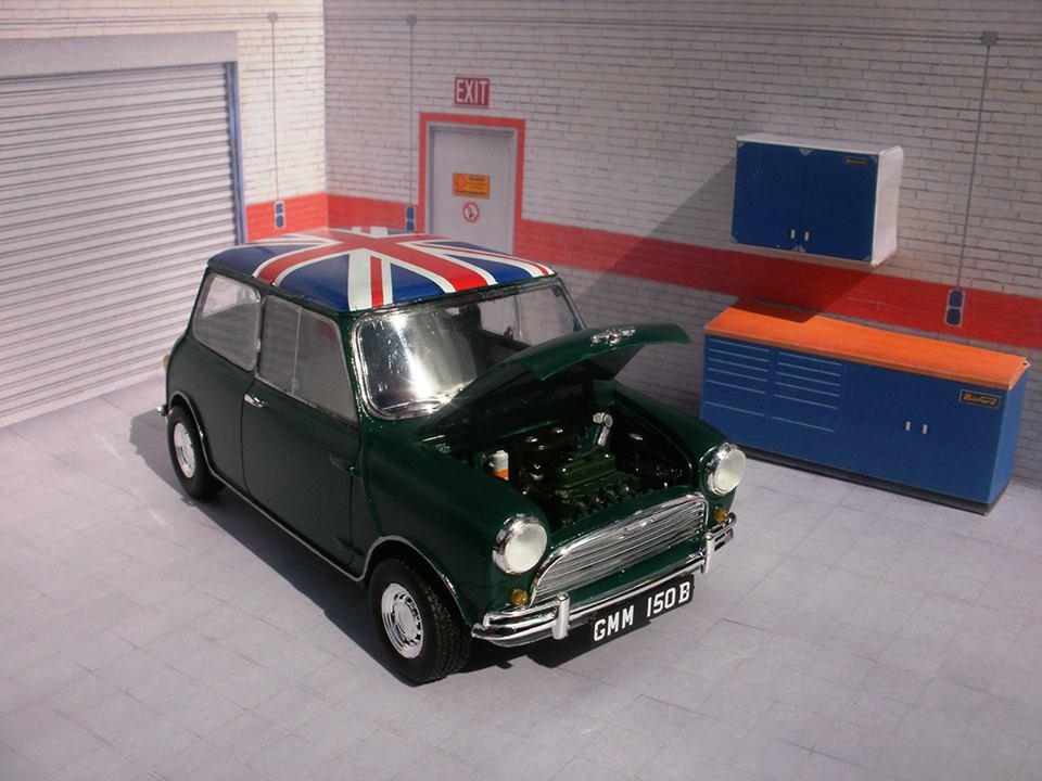 Revell Mini Cooper 1:24 Modell Bausatz
