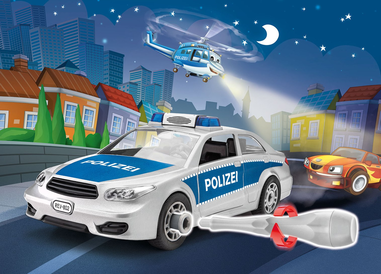 Revell_Junior_Kit_Polizei_Police
