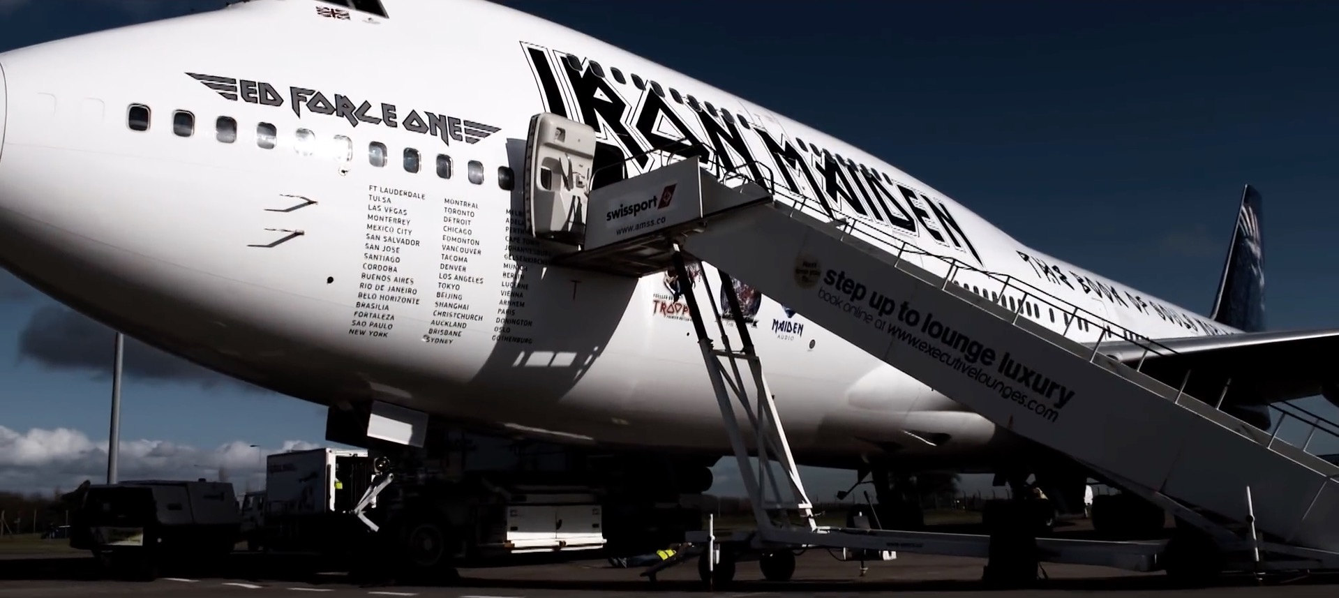 Iron Maiden Ed Force One (c) Iron Maiden
