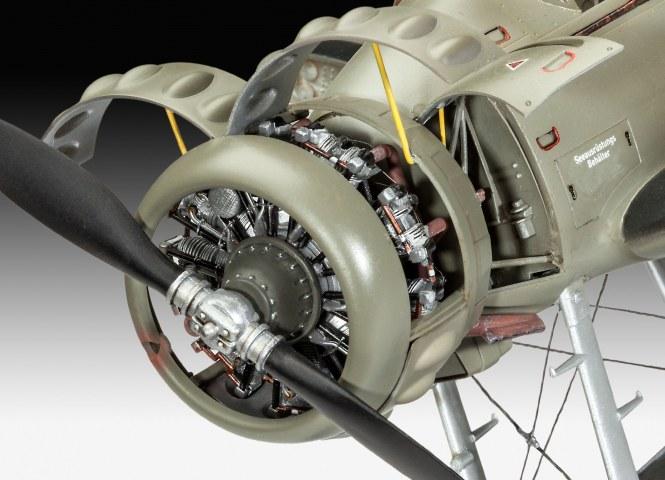 BMW 132 Motor an Arado AR196B