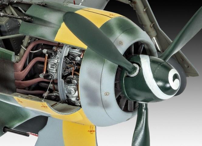 BMW 801 Motor an FockeWulf FW 190