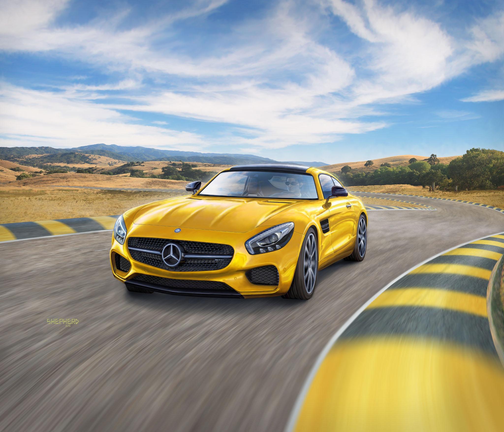 Mercedes-AMG GT Modellbausatz Packungsbild