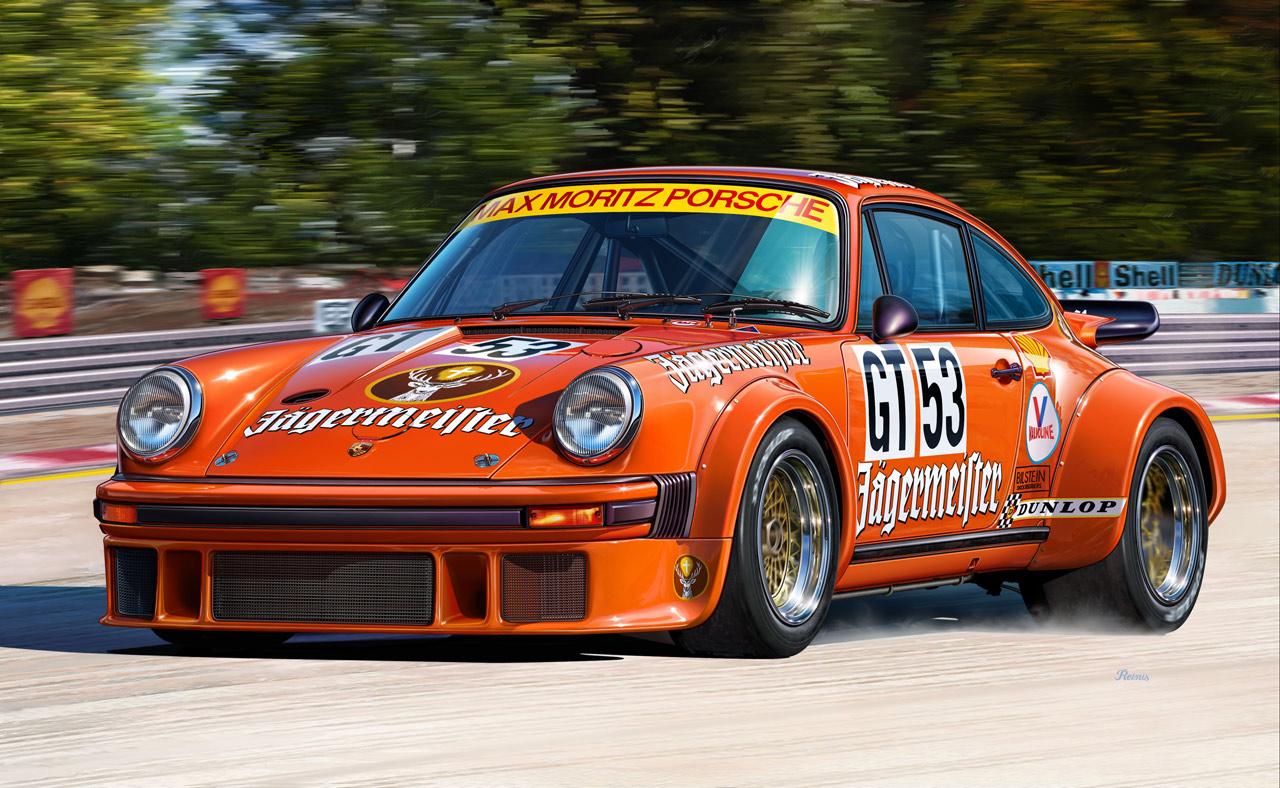 Porsche 934 RSR Jägermeister Header
