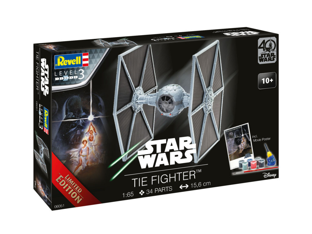 TIE Fighter Bausatz 40 Years of Star Wars