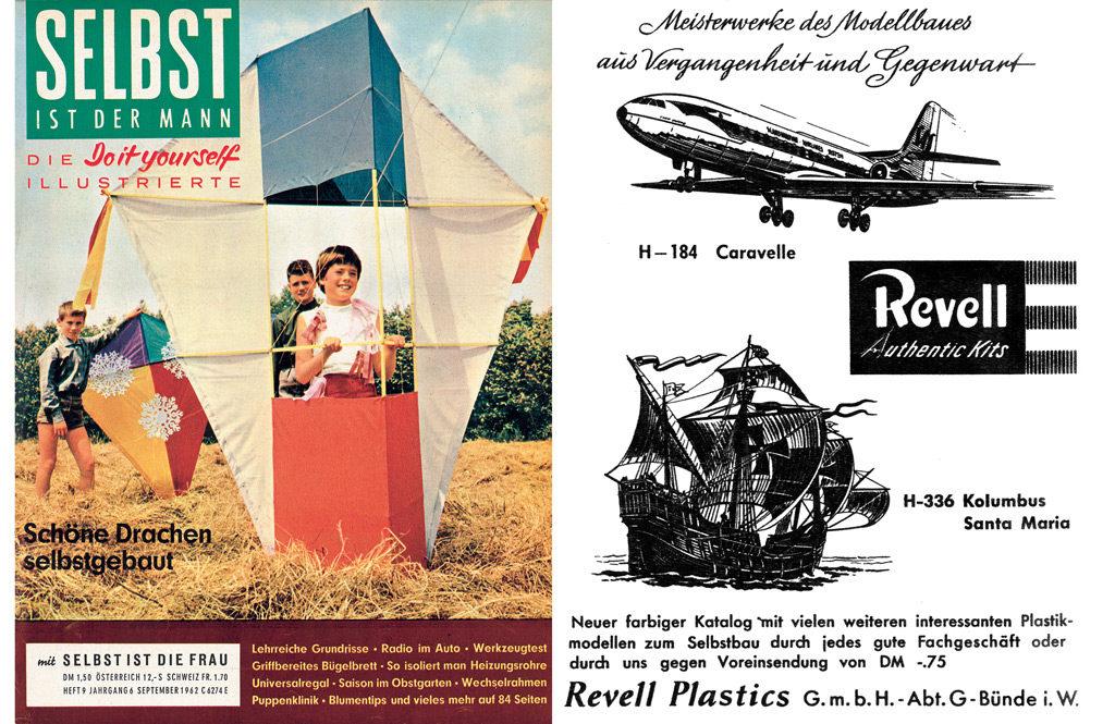 Revell Anzeige im selbst Heimwerker Magazin Anzeige 1962 09