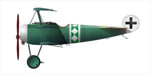 Fokker DR. I, Leutnant Pippart, Jasta 19