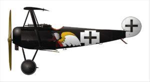 Fokker Dr.I, Leutnant Joseph Jacobs