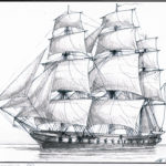 Revell Marinemaler Olaf Rahardt Dom Fernando Segelschiff