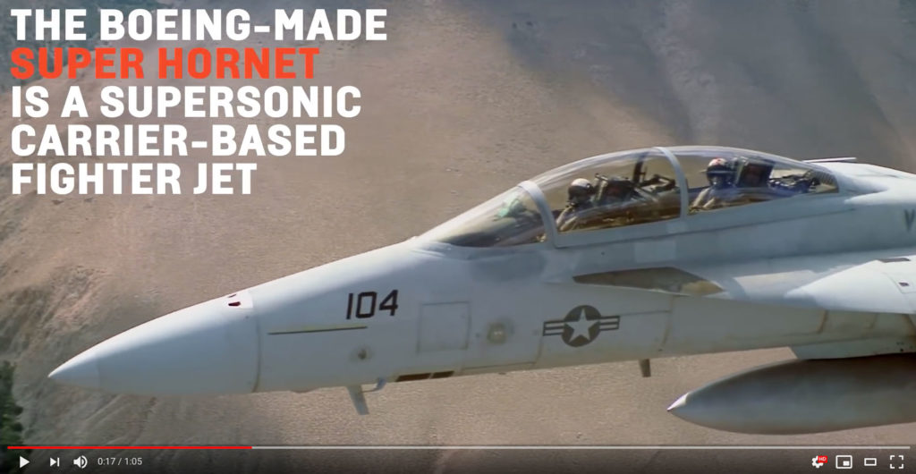 F/A 18 Super Hornet Vocativ YouTube Screenshot
