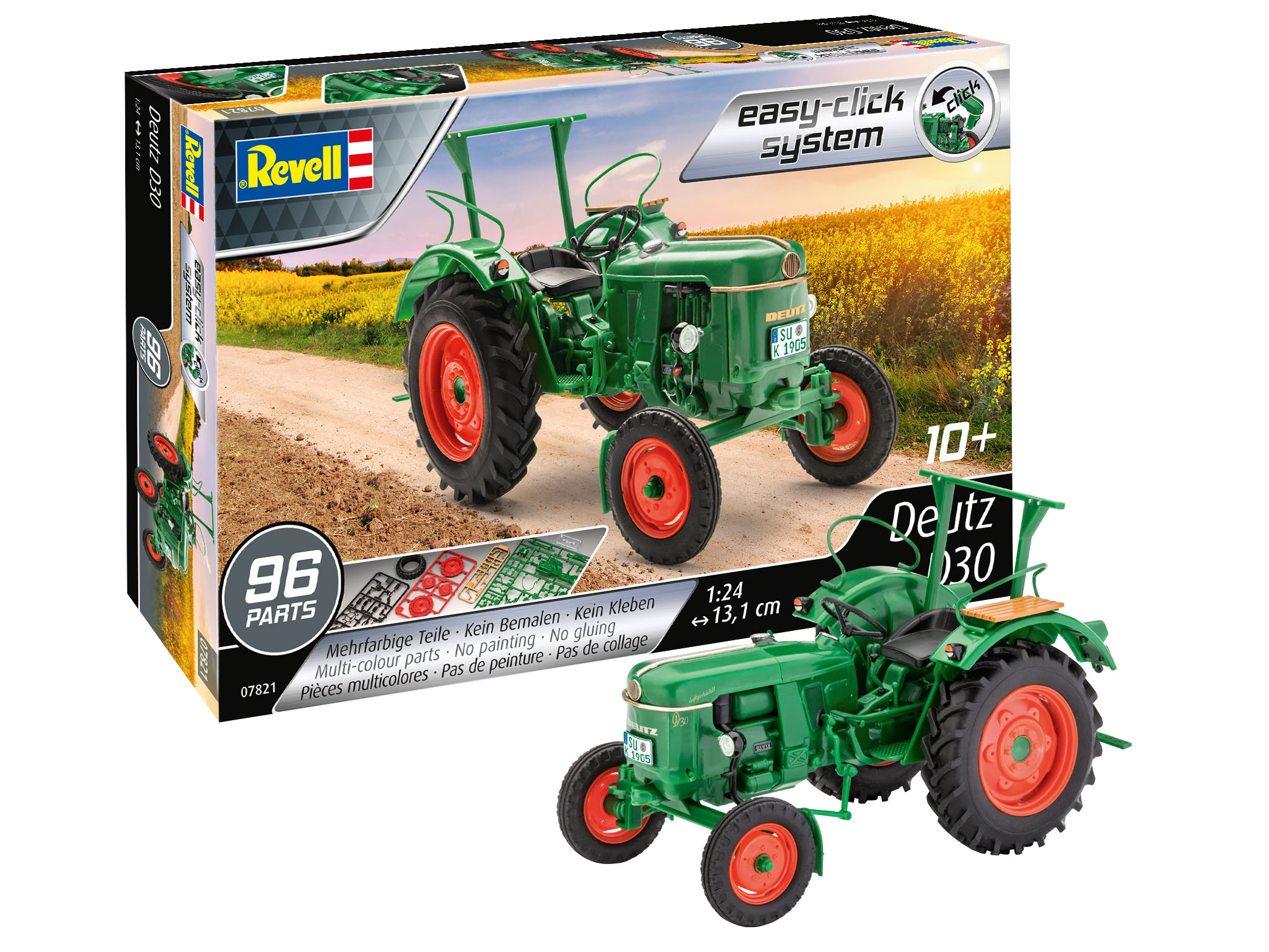 Deutz D30 Revell easy click system Packung