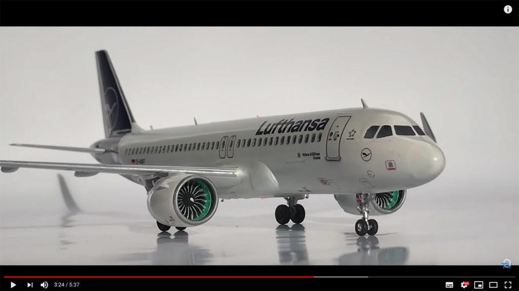 "Airbus A320 Neo Lufthansa ""New Livery"" Maßstab: 1:144 Artikelnummer: 03942"