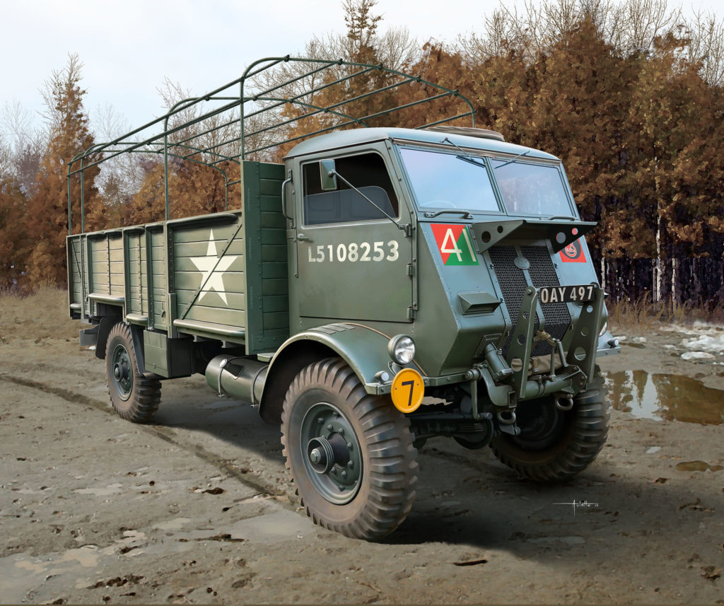 Fordson WOT 6 War Office Truck LKW Royal Army