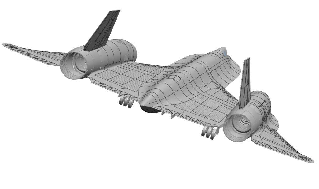 Revell CAD Modell SR-71 Blackbird EXKLUSIV